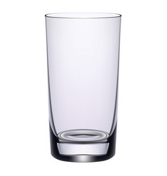 Long drink glass isolated on a white background vector
