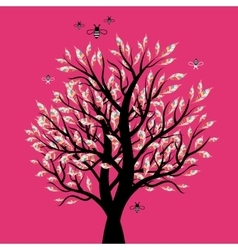 Excellent visual trees vector