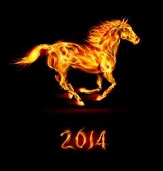 Fair Horse Run2 2014 01 vector image