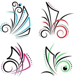 East swirl vector