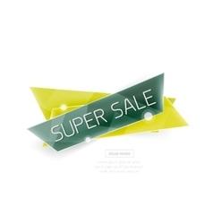 Website banner vector image