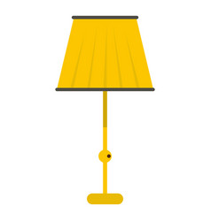 Floor lamp icon isolated vector