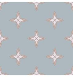 Seamless geometric pattern Blue vector image vector image