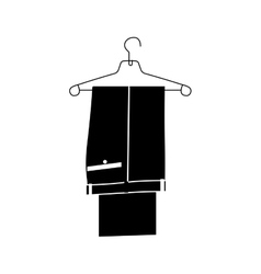 Suit pants icon image vector