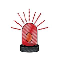 Drawing alarm warning technology system virus vector