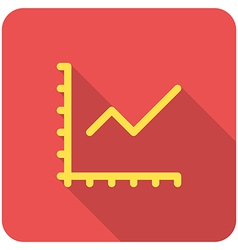 Chart icon vector