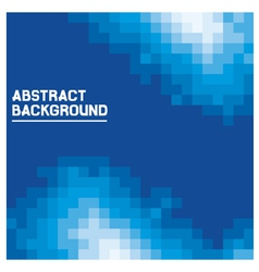 blue abstract background vector image