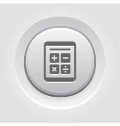 Earnings calculator business icon vector
