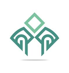 Logo letter G icon design vector image