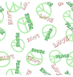 seamless text pattern vector image