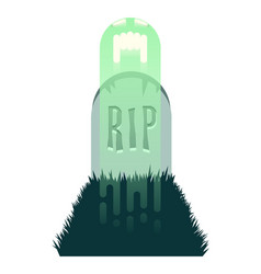 The haunted grave two vector