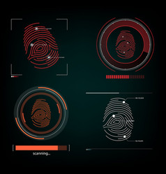 Visual response finger print vector