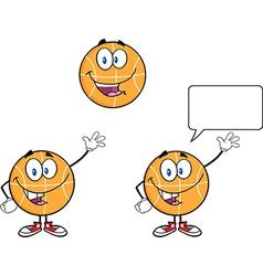 Cartoon basketball design vector image