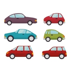 Classic cars design vector