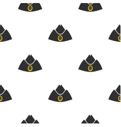forage cap pattern flat vector image