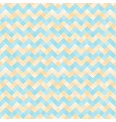 Seamless abstract pattern with turquoise and vector image vector image