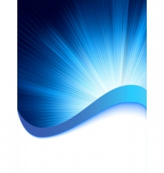 Abstract burst card template vector