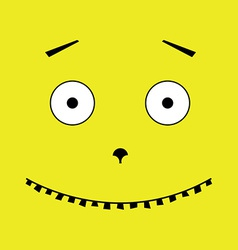 Unusual face vector