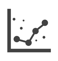 Dotted graphs vector