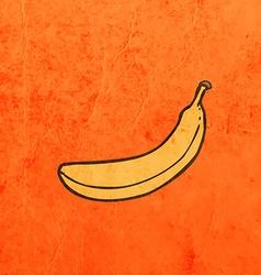 Banana cartoon vector