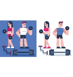 Gym vector image vector image