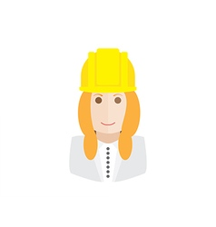 object architect avatar vector image vector image