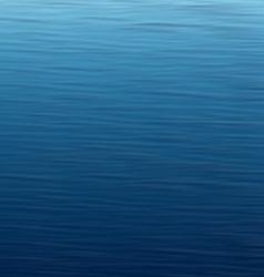 Wavy water background vector image