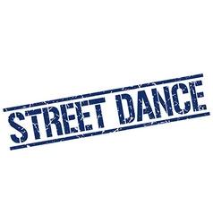Street dance stamp vector