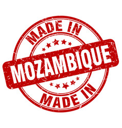 Made in mozambique vector