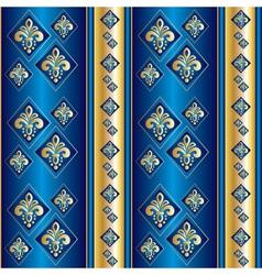 Silk blue wallpaper vector