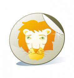 sticker icon vector image