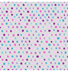 Seamless abstract background of dots and strips vector