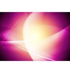 Bright wavy design vector image vector image