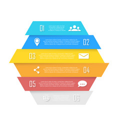 element for infographic business concept vector image vector image