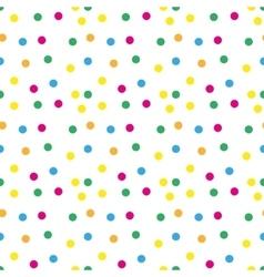 Festive confetti seamless pattern modern vector