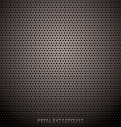 metal grid background vector image vector image