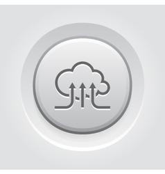 Online Cloud Services Icon vector image vector image