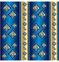 silk blue wallpaper vector image vector image