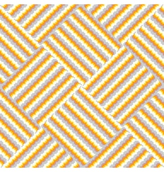 Design seamless knitted decorative pattern vector