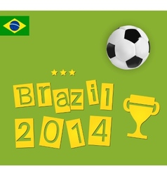 brazil design vector image vector image