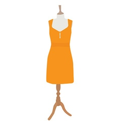 Summer dress vector