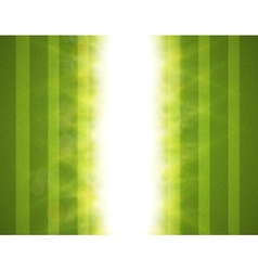 Abstract green blurry background with overlying vector image