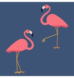 Couple of pink vector