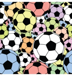 football tile vector image vector image