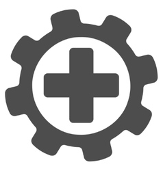 Medical settings icon from business bicolor set vector