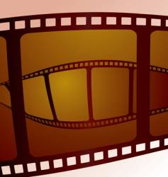 film overlap vector image