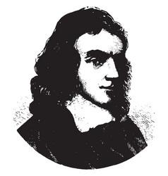 John milton vintage vector