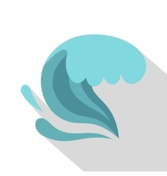 Ocean icon cartoon style vector image vector image