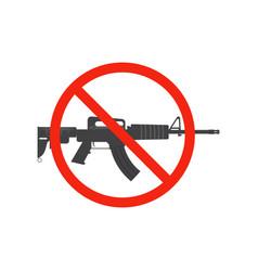 no weapon vector image