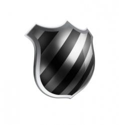 Vector shield template item vector